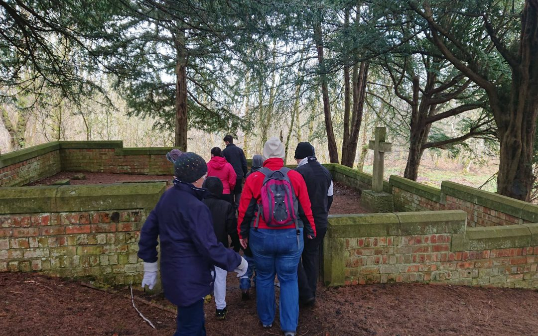 Kyle's guided walk along the Avon