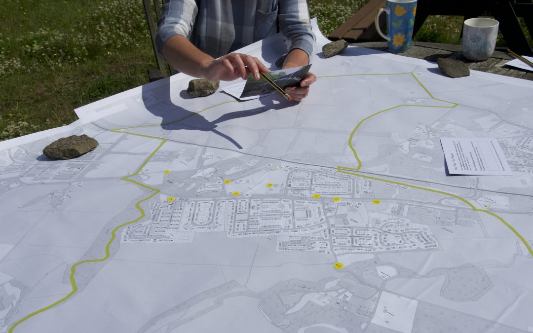 'Our' Falls – mapping workshop at Community Garden