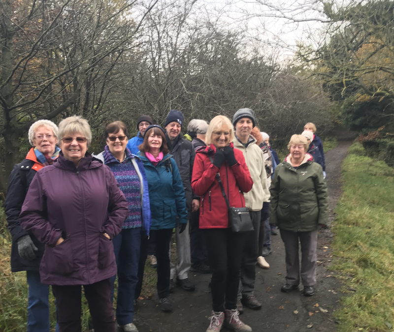 West Lothian Ageing Well Walkers