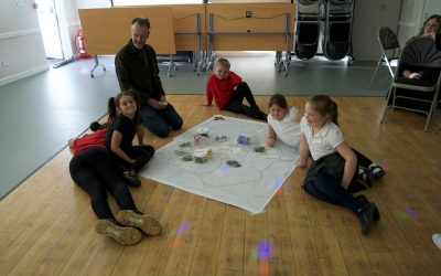 A 'treasure' hunt in Polbeth: mapping and discovering with Polbeth After School Club
